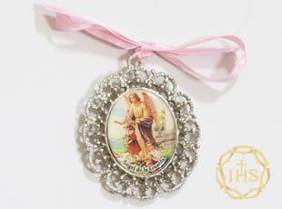 medalla protectora angel