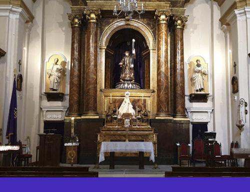 Cambio en los retablos de la iglesia