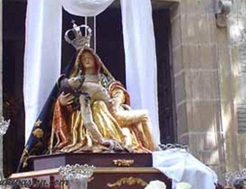 Recibimiento a María Stma. de la Pasión