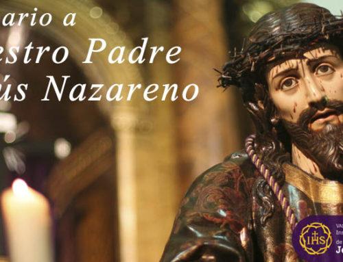 Quinario a Ntro. Padre Jesús Nazareno