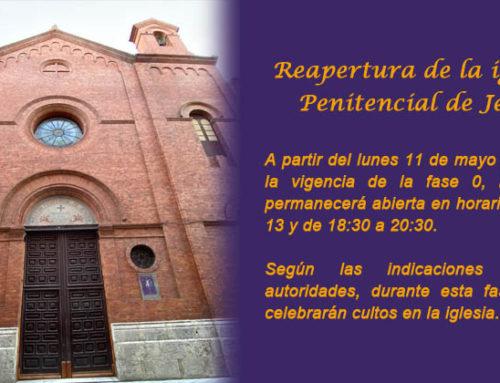 Reapertura de la iglesia
