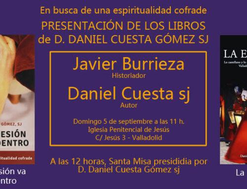 Presentación libros Daniel Cuesta sj